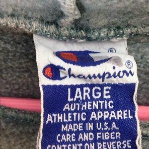 Champion Shirts - Vintage Pullover Champion Hoodie Sweatshirt
